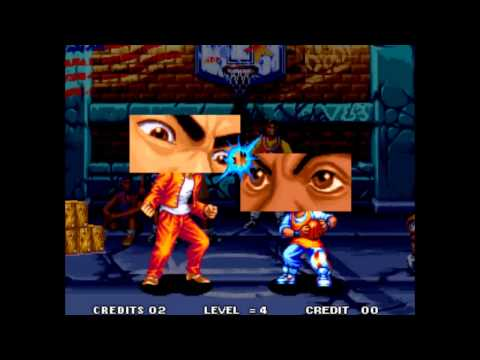 Aggressors of Dark Kombat Neo Geo