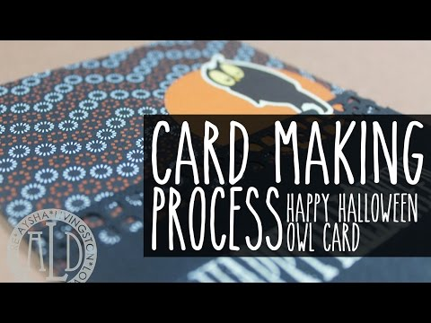 Cardmaking: Happy Halloween Owl Card