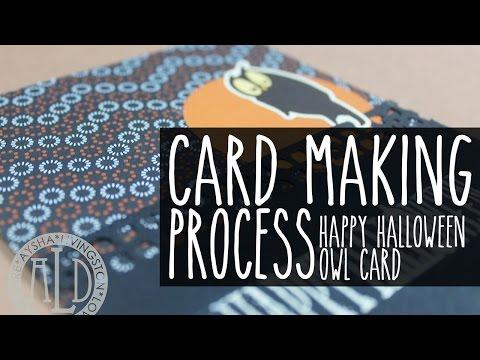 Cardmaking: Happy Halloween Owl Card