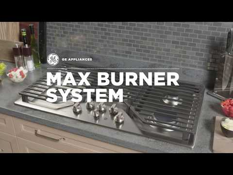 GAS COOKTOP - MAX BURNER SYSTEM