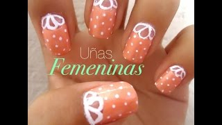Uñas Femeninas - YouTube