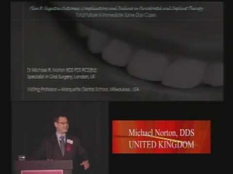 USC Zahnmedizin: Symposium für Internationale Parodontologie & Implantologie  2009 (Dr. M. Norton)