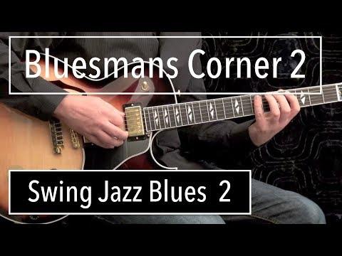 Swing Jazz 2 Blues Guitar Solo Herb Ellis Style