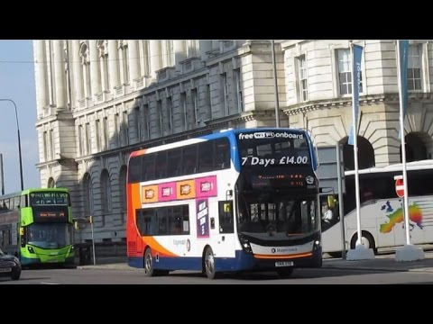 Buses & Trains In Liverpool & Merseyside March 2017