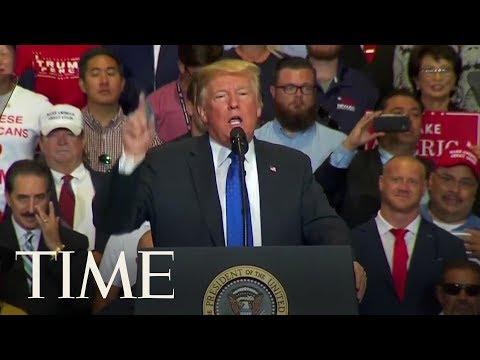 "Trump Says Brett Kavanaugh Is A ""Fine Fine Person"" | TIME"