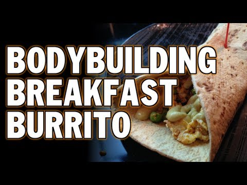 5 MINUTE BODYBUILDING BREAKFAST BURRITO