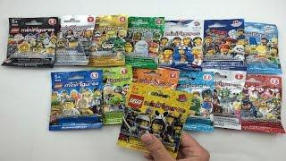 Video LEGO Minifigures Opening - ALL 14 LEGO Minifigures Series! MP3, 3GP, MP4, WEBM, AVI, FLV Mei 2019