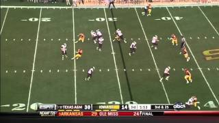 Cyrus Gray vs Iowa State (2011)