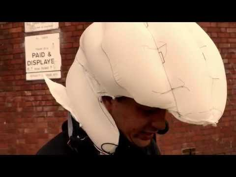 Inflatable Cycle Helmet