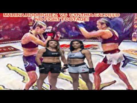 UFC WASHINGTON DC: CYNTHIA CALVILLO VS MARINA RODRIGUEZ POST FIGHT ANALYSIS