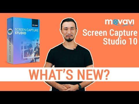 Movavi Screen Capture Studio 10 | What's new?