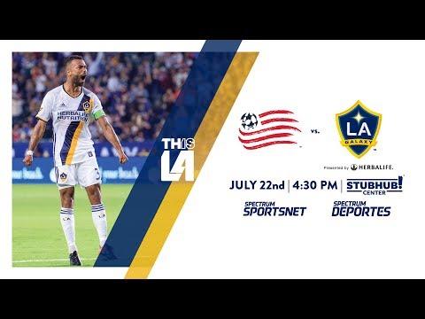 Video: TEASER: LA Galaxy vs. New England Revolution | July 22nd, 2017
