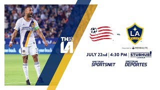 Don't miss LA Galaxy take on New England Revolution. Watch it live on on Saturday night on Spectrum Sportsnet at 4:30 PM PT.