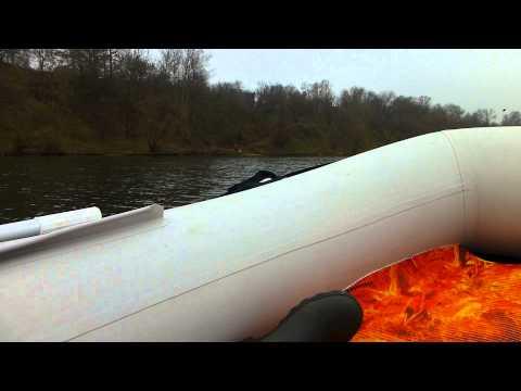 лодки пвх солар видео тесты