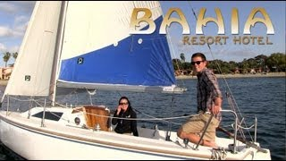 The Bahia offers many San Diego activities with sailing, pedal boats, kayaking and more. Bahia Resort Hotel Activities http://www.bahiahotel.com/activities/ ...