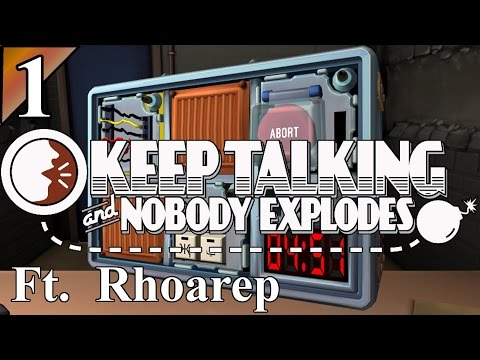 Keep Talking And Nobody Explodes 1:  Serial Number?  Let's Play KTNE Gameplay