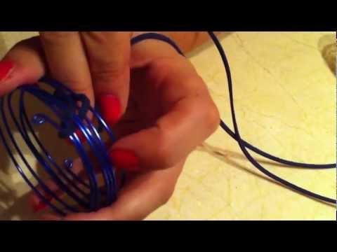 pulsera de alambre