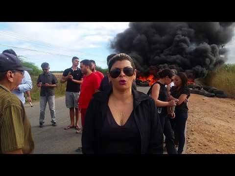 Professora Luciene fala sobre o protesto em Ipanguaçu-RN