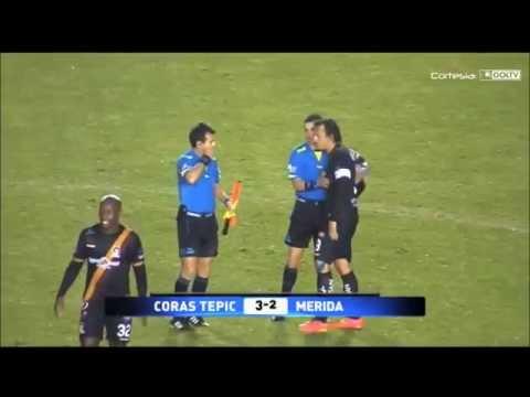 Coras FC vs Mérida Jornada 4