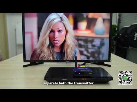 AV-Funkübertragung verbindung(Untertitel-English) | PAKITE