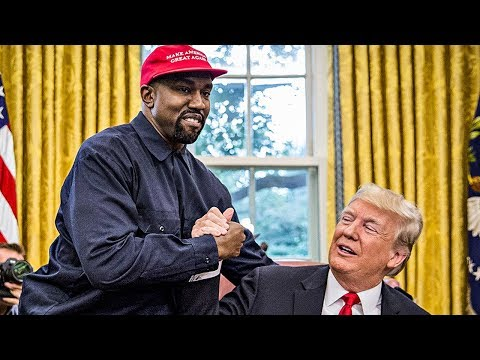 Trump And Kanye West Praise Each Other During Bizarre White House Visit