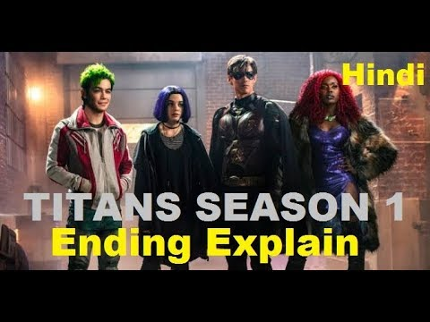 The Ending Of Titans Season 1 Explained in Hindi