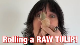 How to roll a RAW TULIP 🌷 by Raw Papers