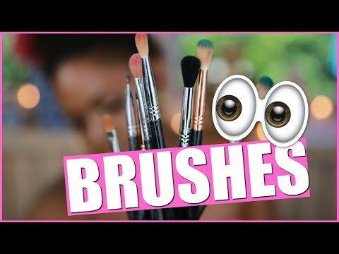 Make up - BEST MAKEUP BRUSHES FOR EYESHADOW!