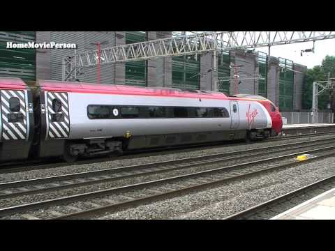 West Coast Mainline, Stafford Station 07.06.2014 Part 1/2