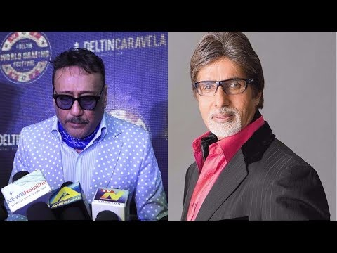 Jackie Shroff Wishes Amitabh Bachchan Happy Birthiday At Launch Of Deltin World Gaming Festival