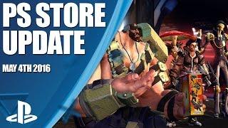 PlayStation Store Highlights - 4th May 2016