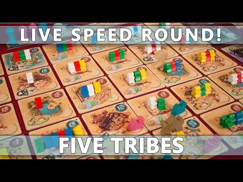 speed - Welcome to a new segment on our channel: Speed Round, where we take a game and play it as fast as humanly possible (without playing like complete lunatics). I've heard reports that Five Tribes...