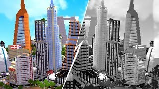 The BEST Minecraft City - Minecraft City Tycoon #1 | JeromeASF