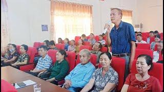 Phường Phương Đông: Hội nghị Công an lắng nghe ý kiến nhân dân