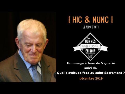 Hommage à Jean de Viguerie // quelle attitude face au Saint Sacrement? Le Club des Hommes en Noir