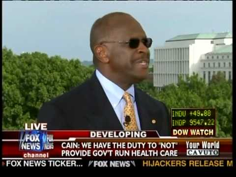 Herman Cain on Cavuto Tells What's Wrong With Obama's Speech on Healthcare