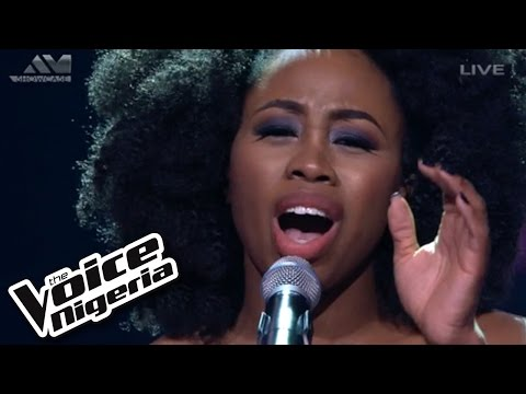 "A'rese Sings ""hallelujah"" / Live Show / The Voice Nigeria 2016"