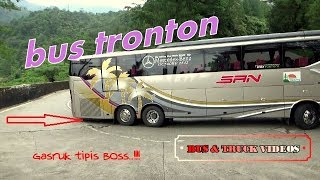 Video BUS TRONTON PERTAMA MELEWATI JALUR SITINJAU LAUIK MP3, 3GP, MP4, WEBM, AVI, FLV September 2018