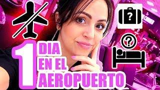 Video 24 Horas en el Aeropuerto de México - Cómo Es?! SandraCiresArt MP3, 3GP, MP4, WEBM, AVI, FLV Juli 2018