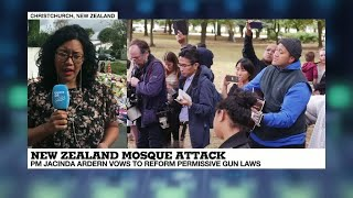 New Zealand mosque attack: Ardern vows to deny shooter 'notoriety' as she leads tributes to victims