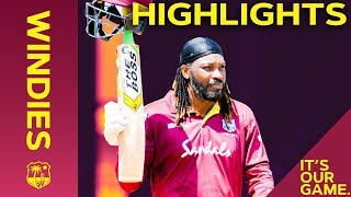 Gayle Goes Big (And Retires?!) as Kohli Hits 43rd Ton | Windies vs India 3rd ODI 2019 - Highlights