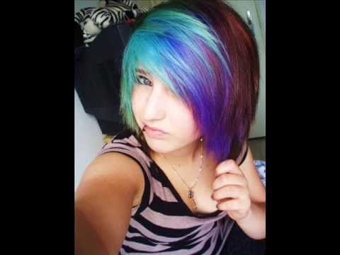 colored hair - I make a video of every color hair i ever done ! enjoy ;3 Songs: The Rainbow Song. Please Mr. Postman Dubstep Remix. Linkin Park Numb Dubstep Remix.