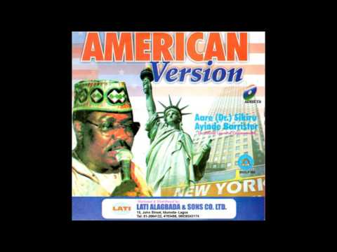 Ayinde Barrister | American Version