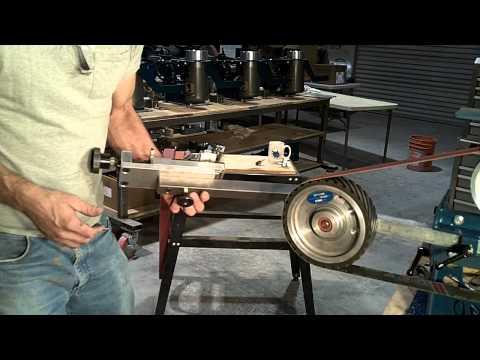 Wuertz Machine Works Surface Grinding Attachment intro video 1
