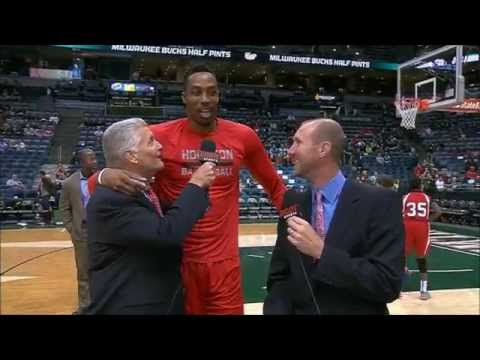 Dwight Howard gives an update on his knee injury