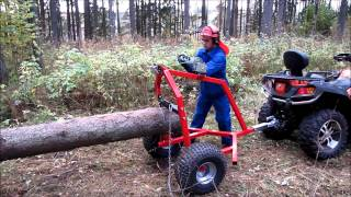 Video ATV LOG HAULER MP3, 3GP, MP4, WEBM, AVI, FLV Oktober 2017