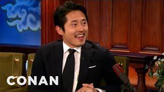 Steven Yeun Invites Conan To An Atlanta Strip Club - CONAN on TBS