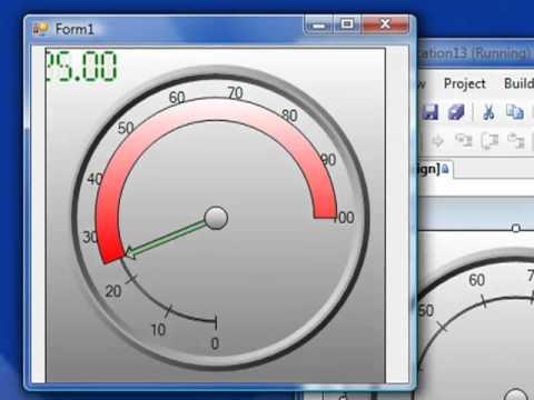 OPC Gauge.NET: Radial & Liner Gauge Monitoring For .NET HMI Applications