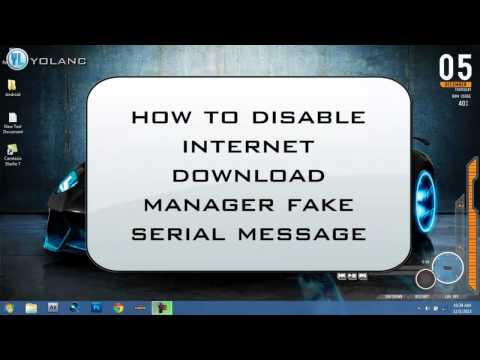 How To Fix/Disable Internet Download Manager Fake Serial/Pop-up October 2013 (видео)