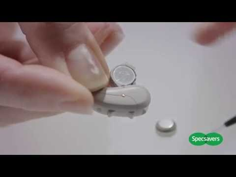 How To Change Your Hearing Aid Battery | Specsavers